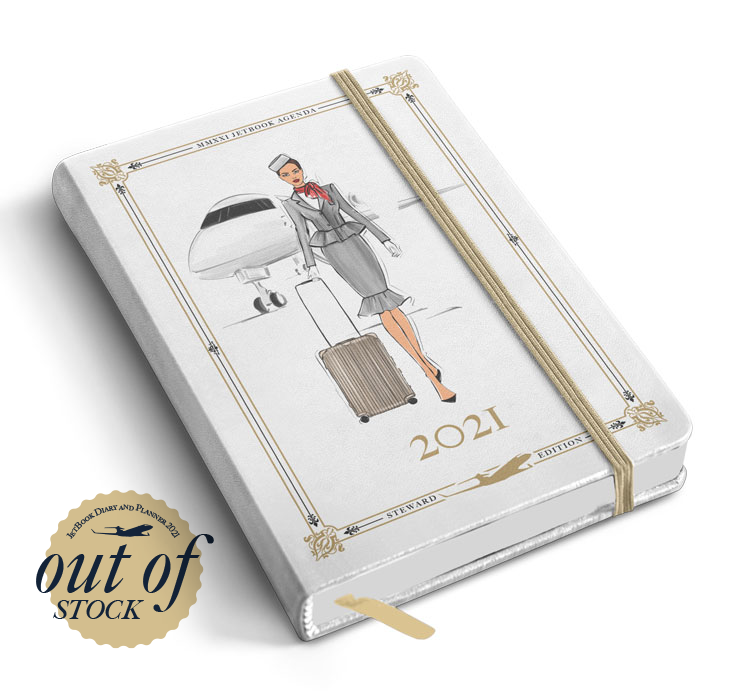 JetBook 2021 Diary and Planner - Flight Attendant Edition