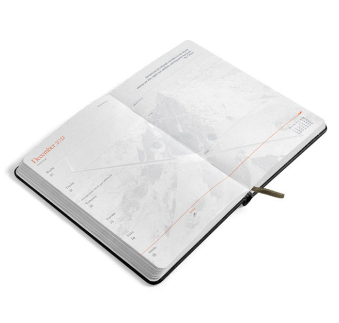 JetBook Agenda Preview Agenda gold