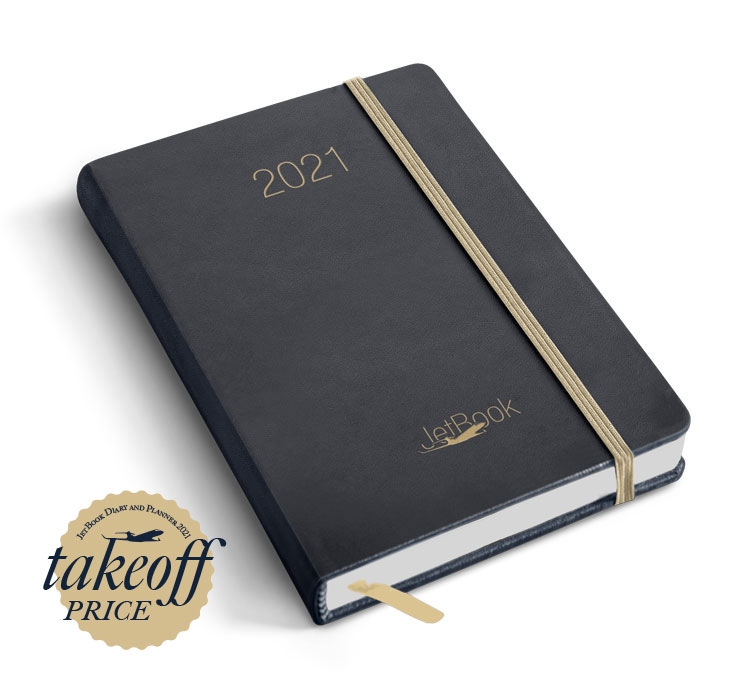 JetBook Agenda - Blue-Gold Edition