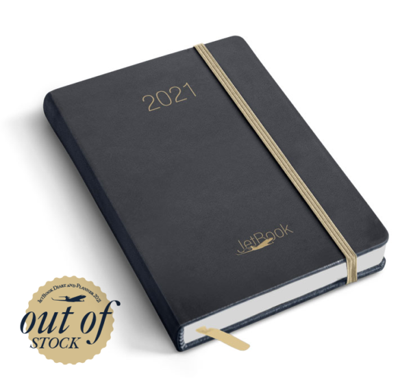 JetBook Agenda - Blue-Gold Edition