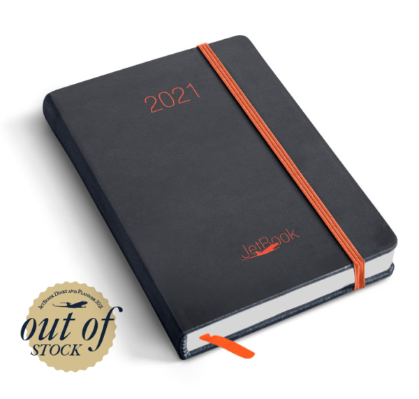 JetBook Agenda - Blue-Orange Edition