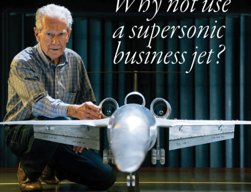 Why not use a supersonic business jet?