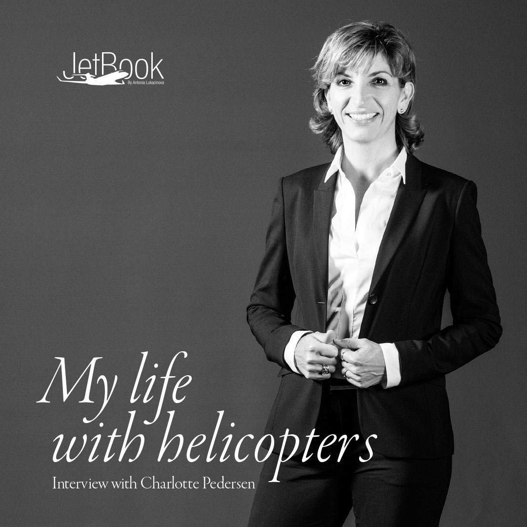 Charlotte Pedersen Her life with helicopters
